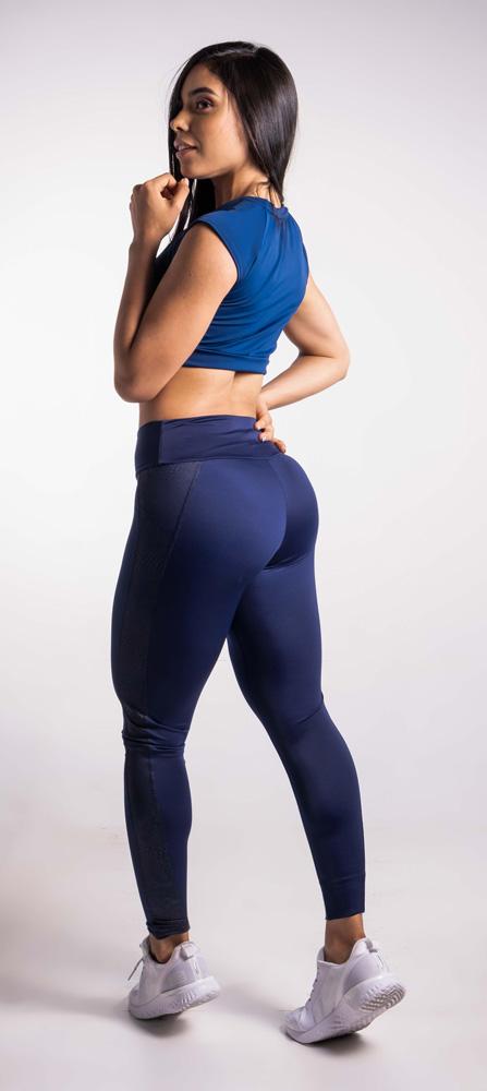 Lycra Corte - Azul