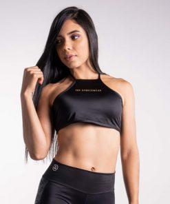 Top Amarre - Negro