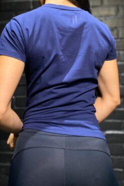 Camiseta T-Shirt Tono a Tono - Azul